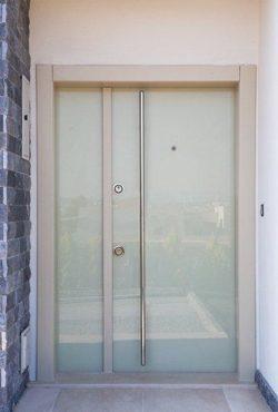 Portes d'Entrée Doubles - Référence 01