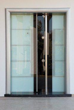 Portes d'Entrée Doubles - Référence 03