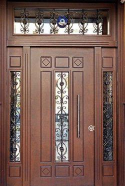 Portes d'Entrée Doubles - Référence 07
