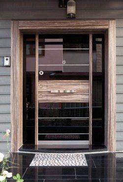 Portes d'Entrée Doubles - Référence 08